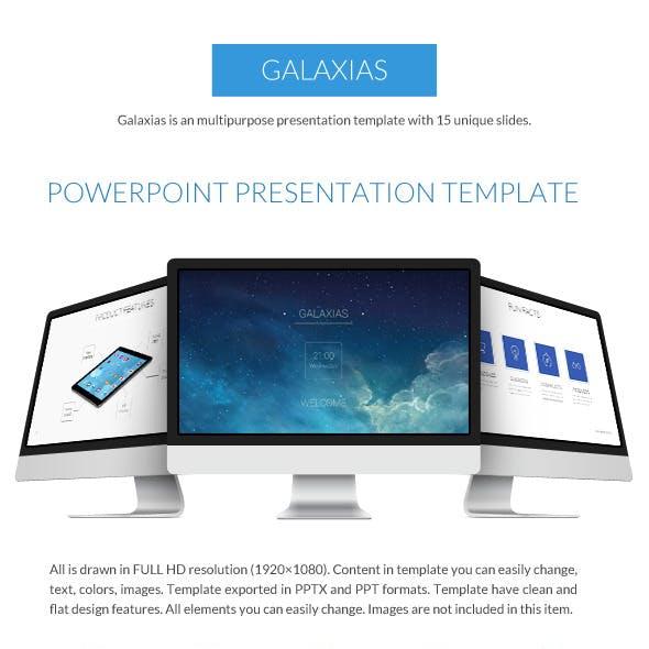 Galaxias Business Power Point Presentation