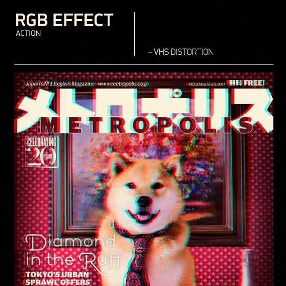 Glitch RGB Effect