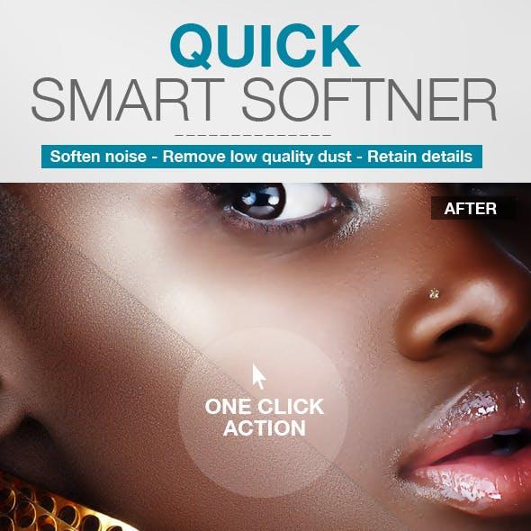 Quick Smart Softener Action