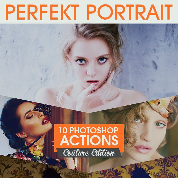 10 Professional Portrait Actions Vol. II