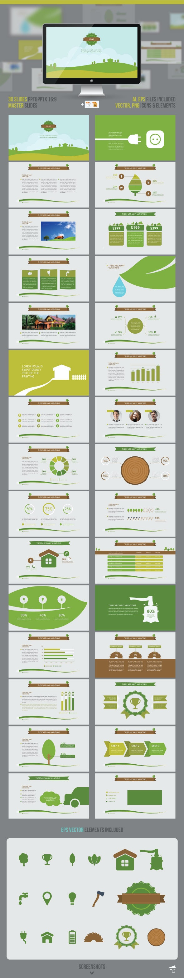 Nature Presentation - Nature PowerPoint Templates