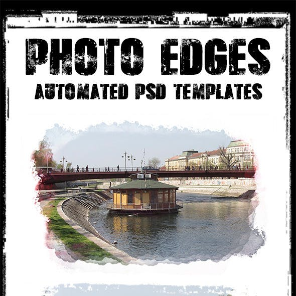 Cool Photo Edges Automated PSD Templates