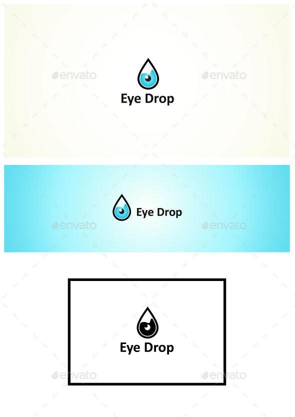 Eye Drop - Symbols Logo Templates