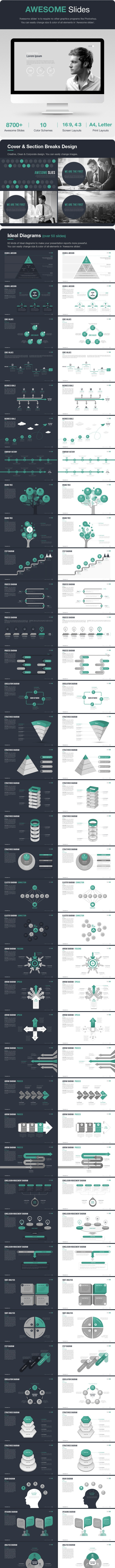 Awesome Slides - Business PowerPoint Templates