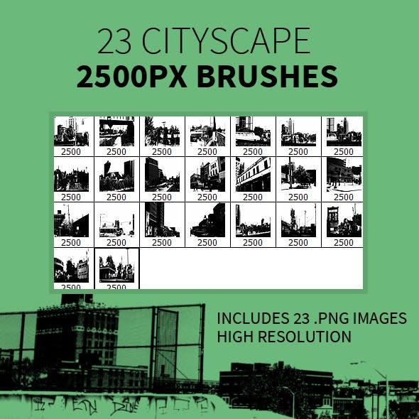 23 Cityscape Brushes