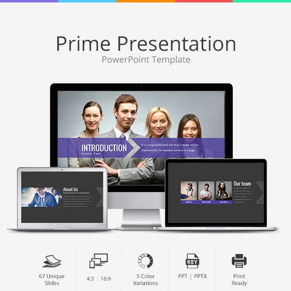 Prime Business Presentation PowerPoint Template