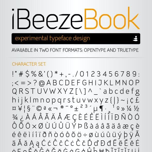 iBeeze Book Font