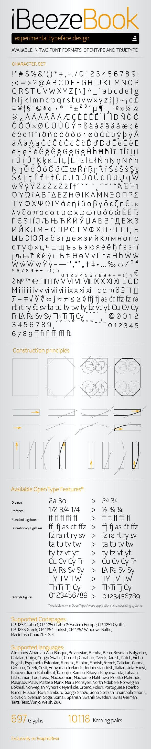 iBeeze Book Font - Miscellaneous Sans-Serif