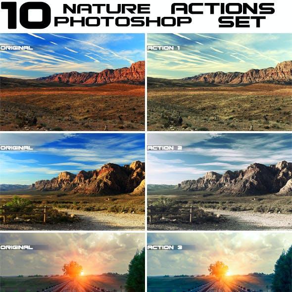10 Premium Nature Actions