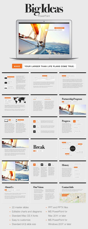 Big Ideas PowerPoint Template - PowerPoint Templates Presentation Templates