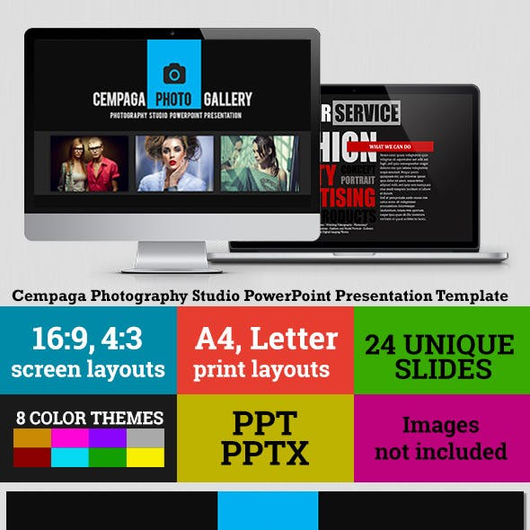 Cempaga Photography Studio PowerPoint Presentation