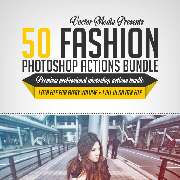 Fashion - Photoshop Actions [BUNDLE]