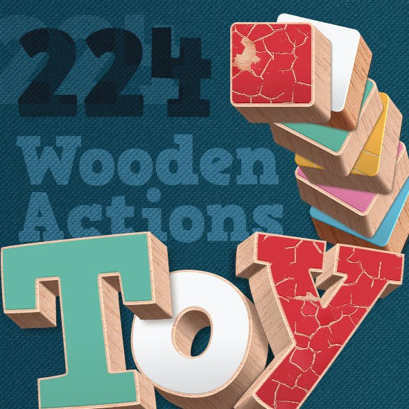 3D Wood Actions