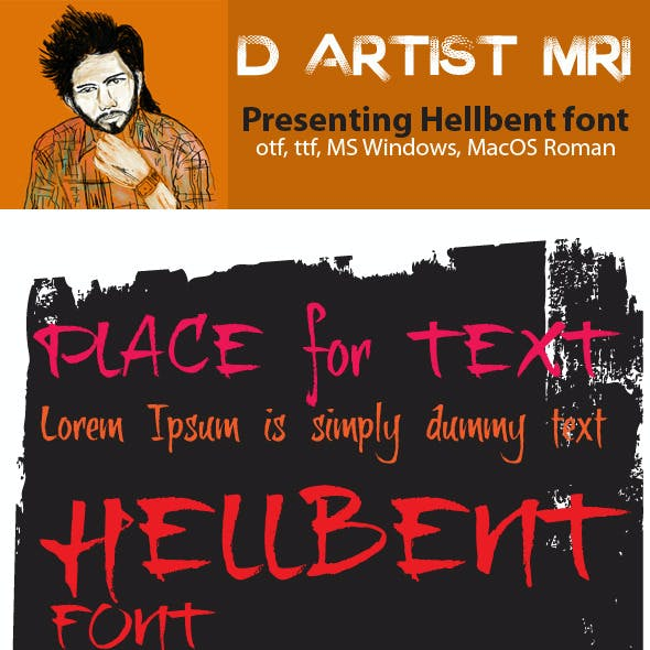 Hellbent Font