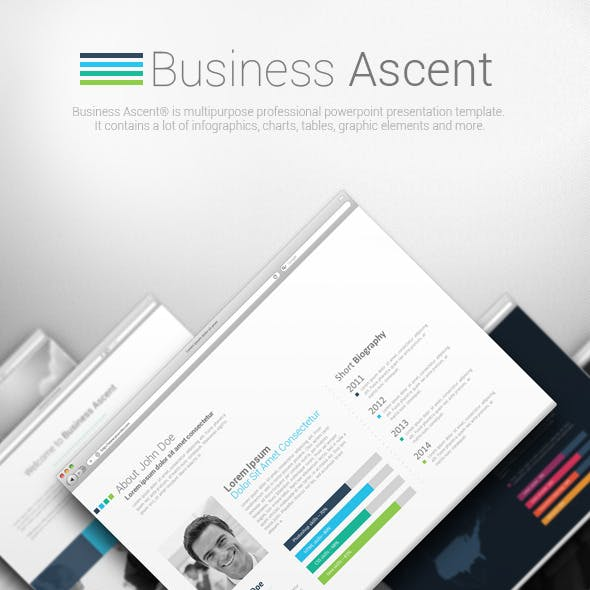 Business Ascent Powerpoint Presentation Template