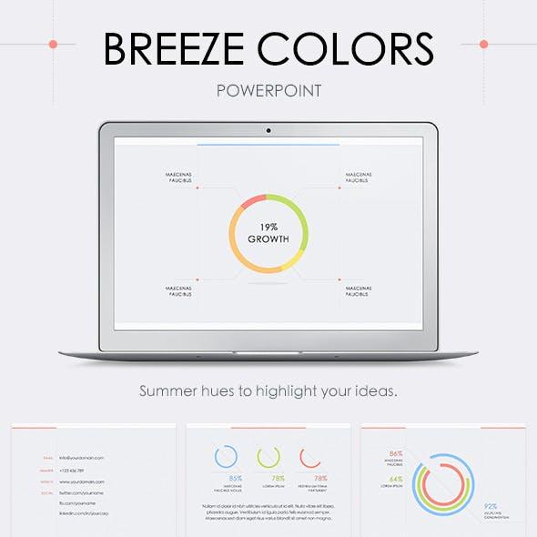 Breeze Colors PowerPoint Template