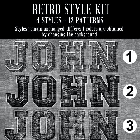 Retro Style Kit