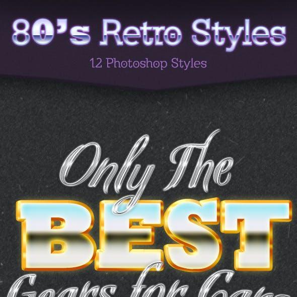 80s Retro Styles