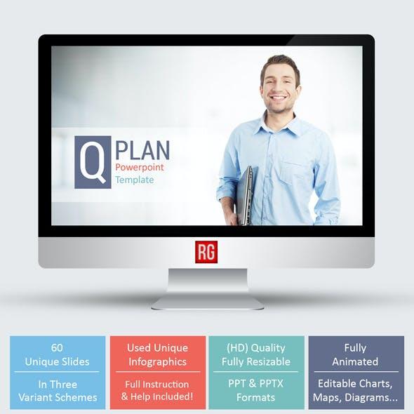 Q Plan Powerpoint Template
