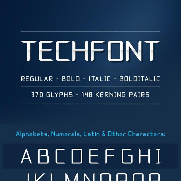TECHFONT