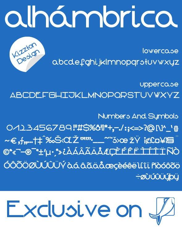 Alhámbrica  - Sans-Serif Fonts