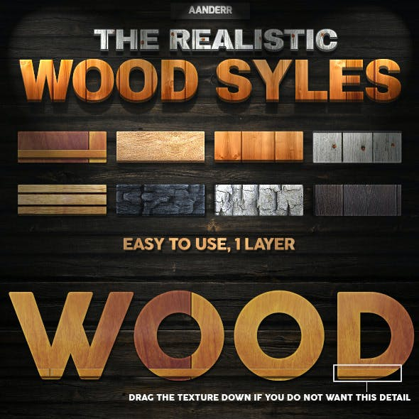 The Realistic Wood Styles