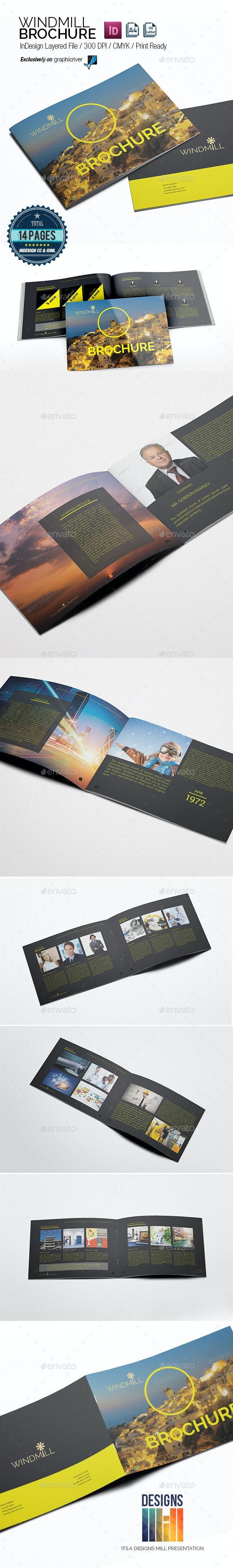 Windmill Multipurpose Brochure - Informational Brochures