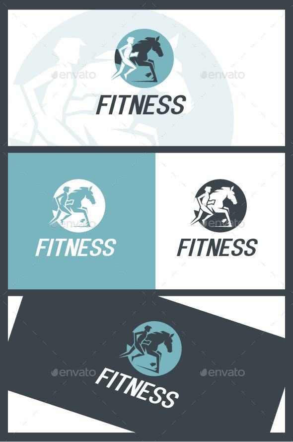 Fitness - Humans Logo Templates