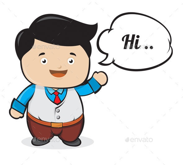 Say Hi - People Characters