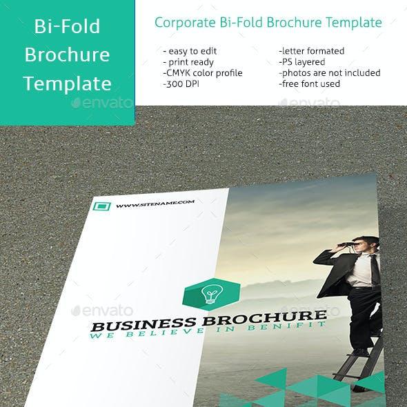 Corporate Bi-Fold Multipurpose Brochure VO-20