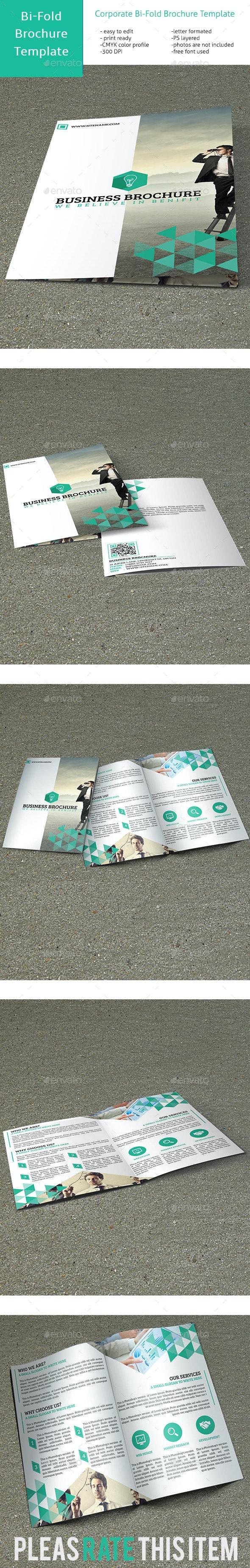 Corporate Bi-Fold Multipurpose Brochure VO-20 - Corporate Brochures