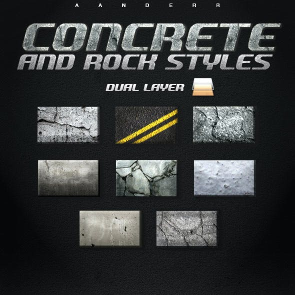 Concrete and Rock Styles