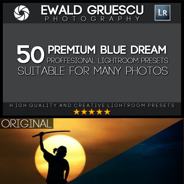 50 Blue Dream Lightroom Presets