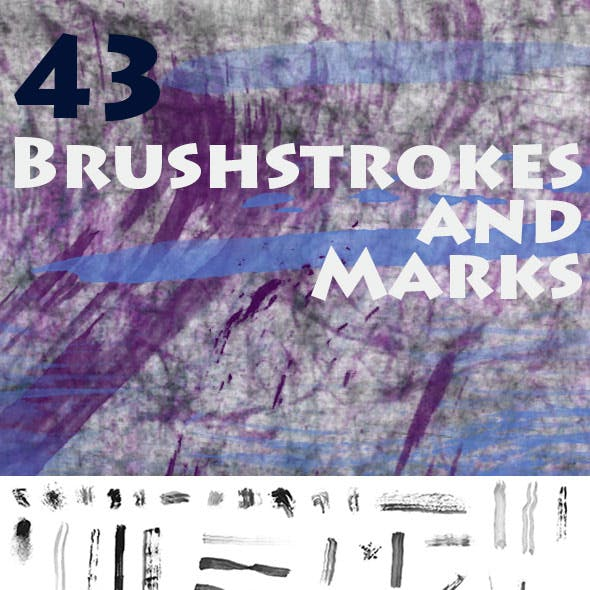 Brushstrokes and Marks