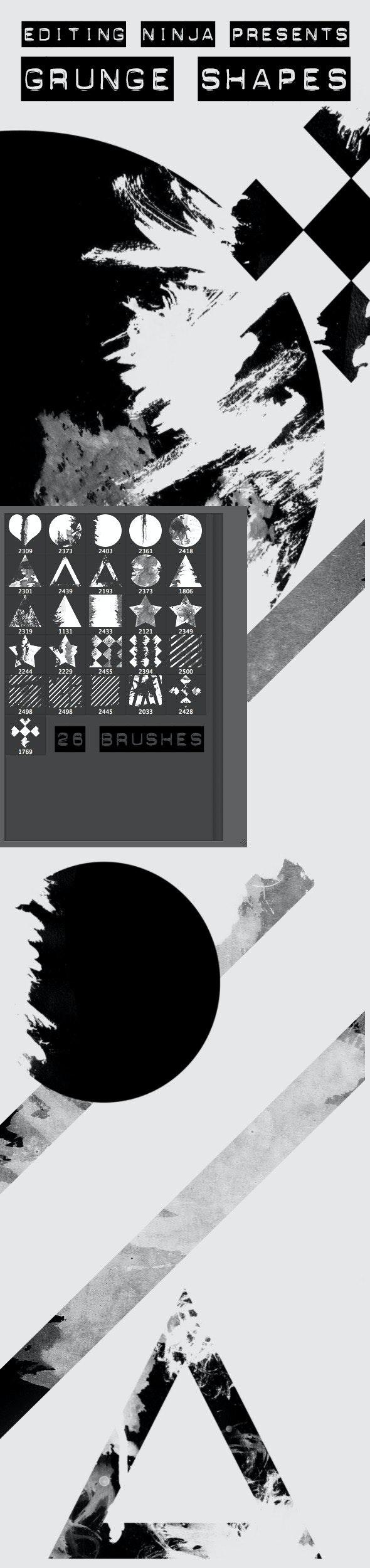 Grunge Shapes - Grunge Brushes
