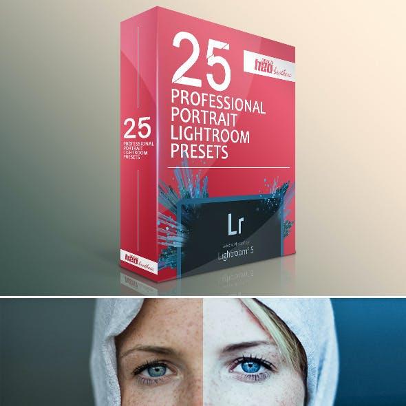 25 Professional Portrait Lightroom Presets