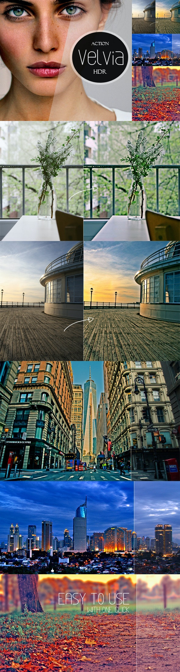 Velvia HDR | PS Action - Photo Effects Actions