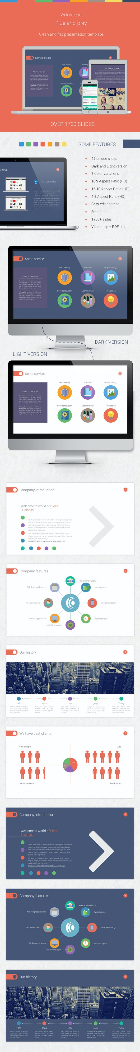 Plug and Play Pack - PowerPoint Templates Presentation Templates