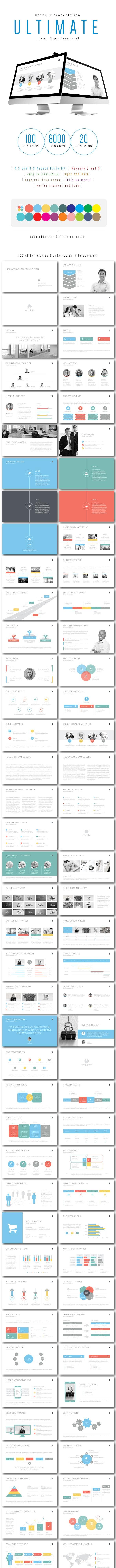 Multipurpose Keynote Presentation (Vol. 07) - Keynote Templates Presentation Templates