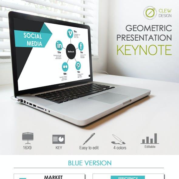 Keynote Geometric Presentation