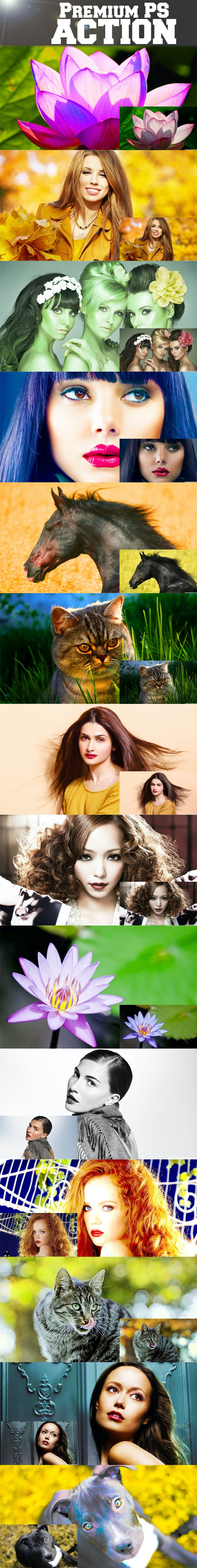 14 Premium PS Actions - Photo Effects Actions