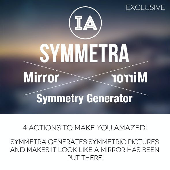 Symmetra - Mirrored Symmetry Generator