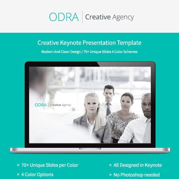 Odra | Creative Keynote Template