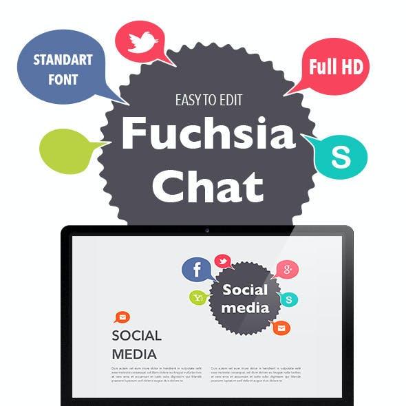 Fuchsia Chat Keynote Template