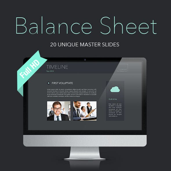 Balance Sheet Keynote Template