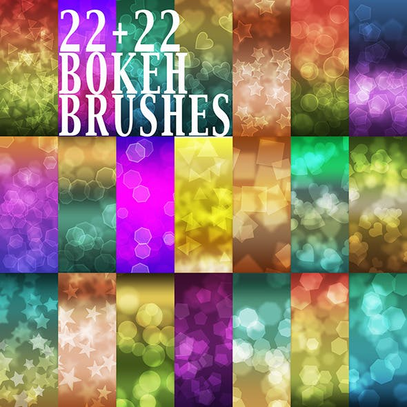 44 Bokeh Brushes