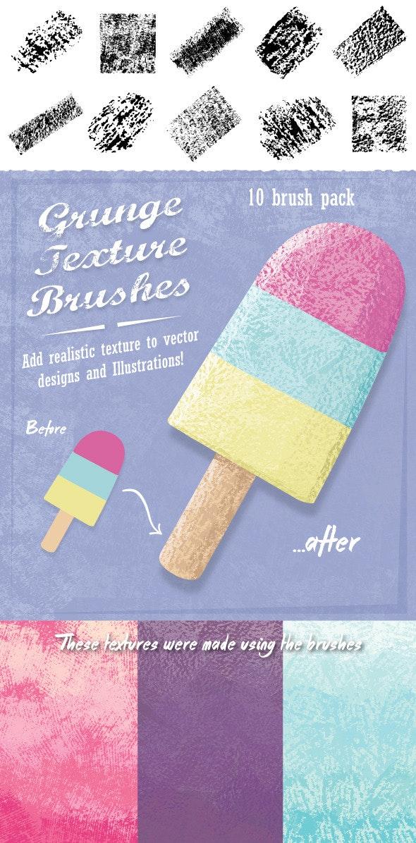 Grunge Texture Brushes - Grunge Brushes