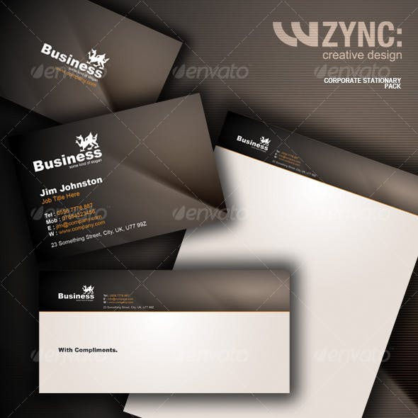 Corporate Stationary Package