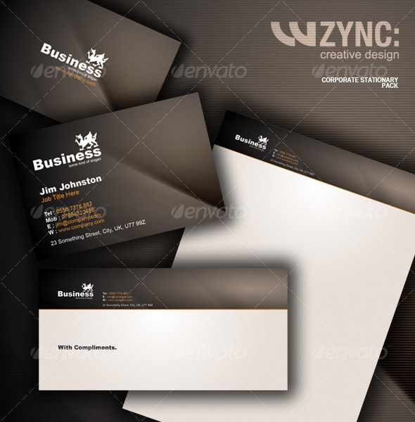 Corporate Stationary Package - Stationery Print Templates