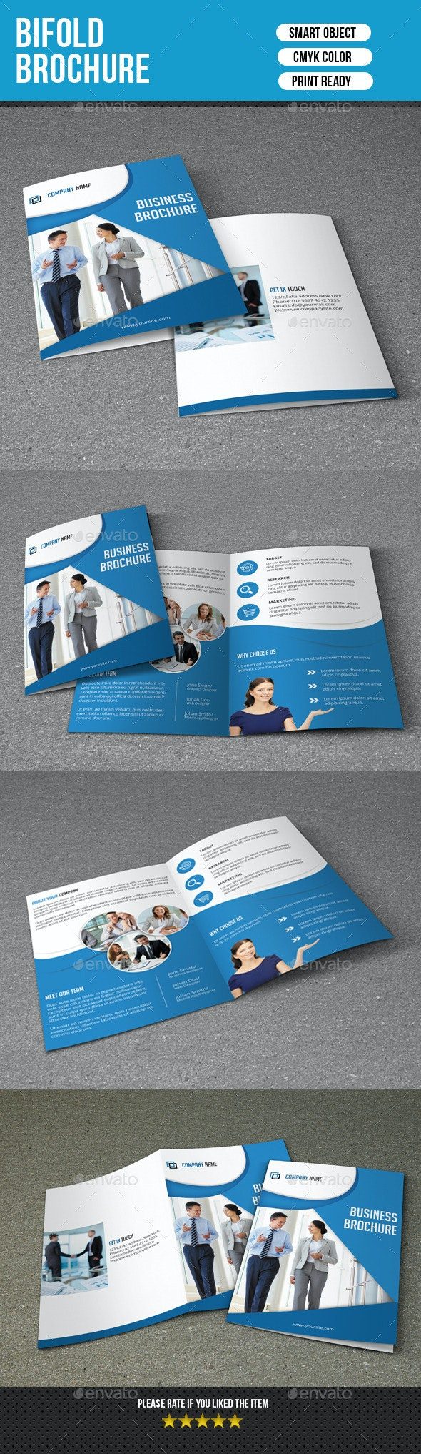 Bifold Brochure for Business-V126 - Corporate Brochures